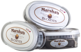 Picture of Marsha's Homemade Buckeyes  Deli Container