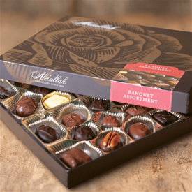 Picture of Abdallah Boxed Chocolates 7.5 oz
