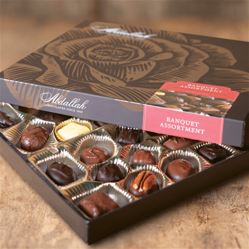 Picture of Abdallah Boxed Chocolates  1lb 14 oz