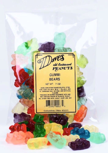 Picture of Dave's Gummi Bears