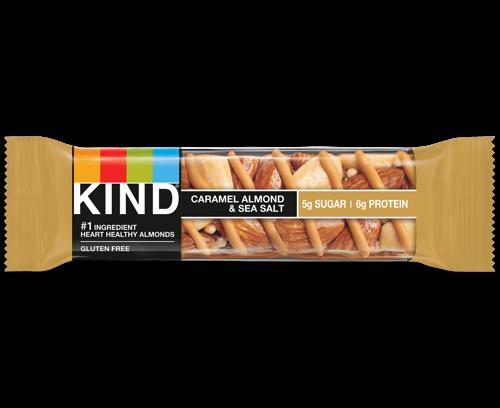 Picture of Kind Caramel Almond & Sea Salt