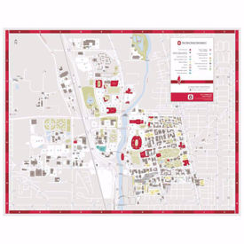 Picture of Campus Map Scarf
