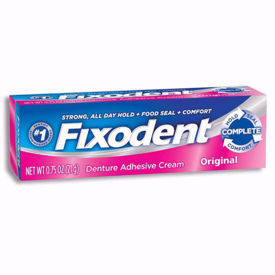 Picture of Fixodent Denture Adhesive Cream