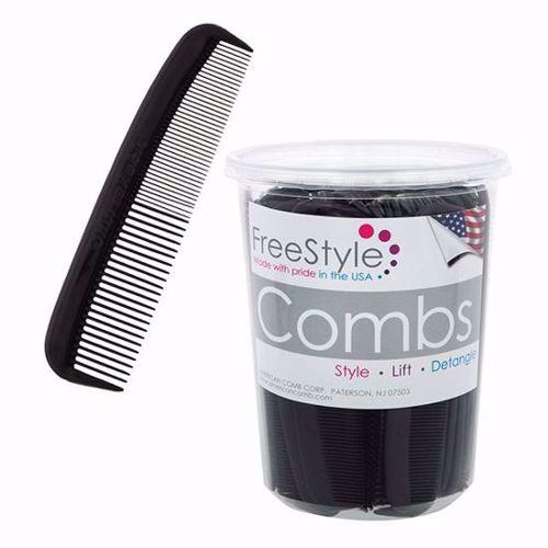 Picture of Men's Black Pocket Comb