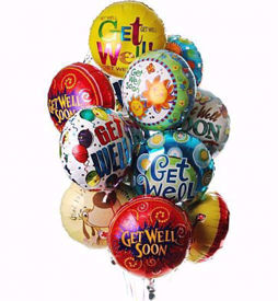 "Picture of 18"" Mylar Balloon"
