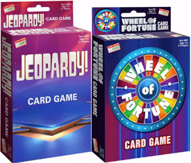 Picture of Wheel of Fortune/ Jeopardy Card Games