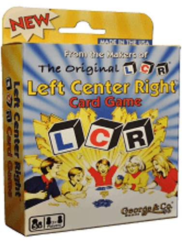 Picture of Left Center Right Card Game